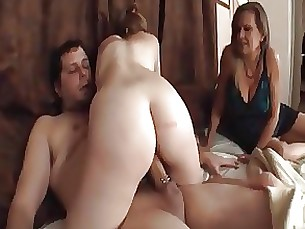 blonde blowjob creampie daughter