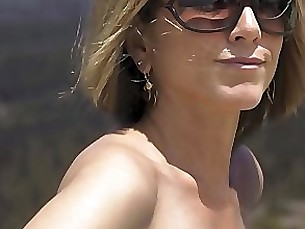fetish milf outdoor solo uncensored