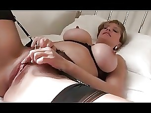 kitty lingerie masturbation milf toys