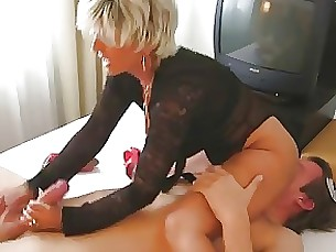 big-cock fetish footjob handjob milf