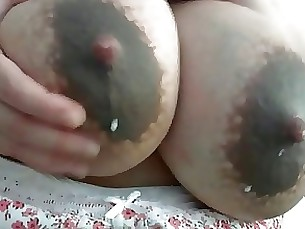 amateur boobs lactation milf