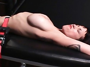 bdsm brunette bus busty fetish milf slave