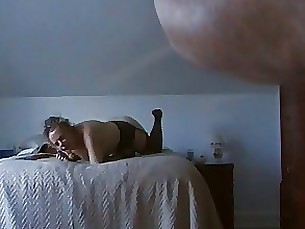 mature lingerie homemade blowjob amateur