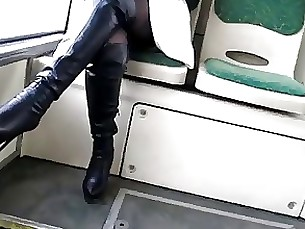 bus fetish milf nylon