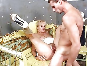 anal mature housewife hairy granny