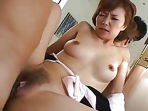 cumshot fuck hairy japanese kitty mature pretty