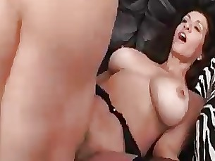 hairy fuck couch blowjob mature hardcore