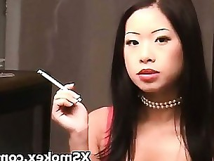 fetish kinky mature smoking whore wild