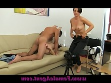 casting hardcore juicy mature milf orgasm really